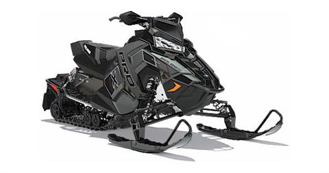 2018 Polaris 800 RUSH PRO-X SnowCheck Select in Bigfork, Minnesota