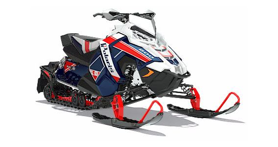 2018 Polaris 800 RUSH PRO-X SnowCheck Select in Hillman, Michigan