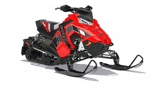 2018 Polaris 800 RUSH PRO-X SnowCheck Select in Munising, Michigan