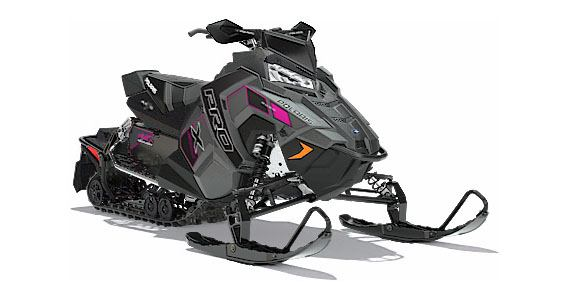 2018 Polaris 800 RUSH PRO-X SnowCheck Select in Wisconsin Rapids, Wisconsin