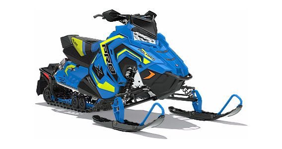 2018 Polaris 800 RUSH PRO-X SnowCheck Select in Mio, Michigan