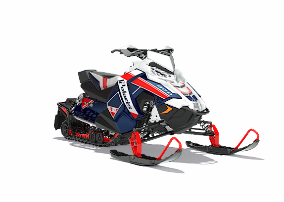 2018 Polaris 800 RUSH PRO-X SnowCheck Select in Sterling, Illinois