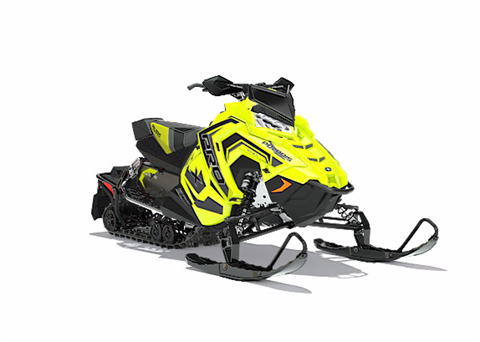 2018 Polaris 800 RUSH PRO-X SnowCheck Select in Iowa Falls, Iowa