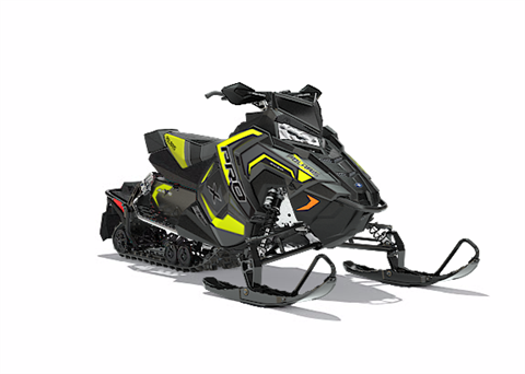 2018 Polaris 800 RUSH PRO-X SnowCheck Select in Lewiston, Maine
