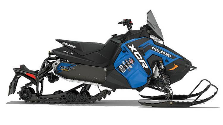 2018 Polaris 800 RUSH XCR SnowCheck Select in Three Lakes, Wisconsin