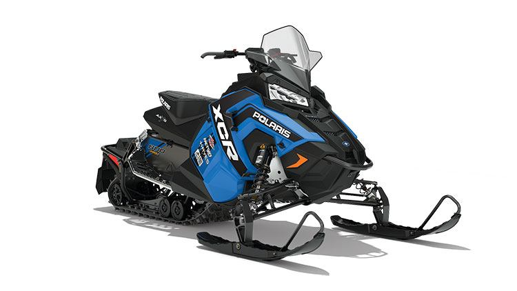 2018 Polaris 800 RUSH XCR SnowCheck Select in Delano, Minnesota