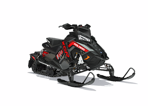 2018 Polaris 800 RUSH XCR SnowCheck Select in Sterling, Illinois