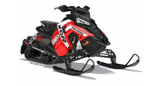 2018 Polaris 800 RUSH XCR SnowCheck Select in Pittsfield, Massachusetts