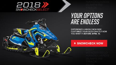 2018 Polaris 800 Switchback PRO-X SnowCheck Select in Brewerton, New York