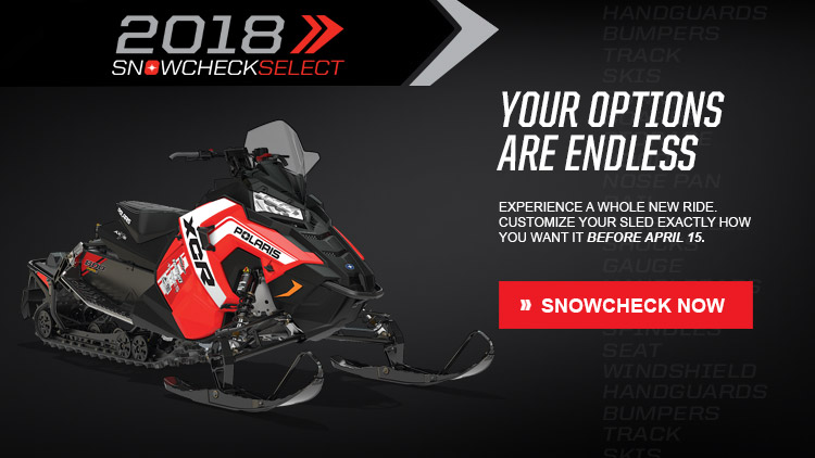 2018 Polaris 800 Switchback XCR SnowCheck Select in Nome, Alaska