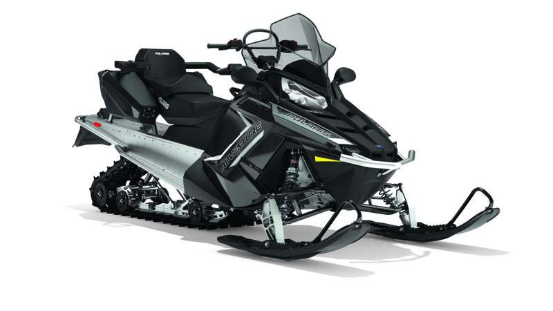 2018 Polaris 550 INDY Adventure 155 ES in Dimondale, Michigan