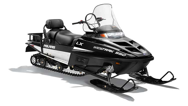 2018 Polaris 550 WideTrak LX ES in Elkhorn, Wisconsin