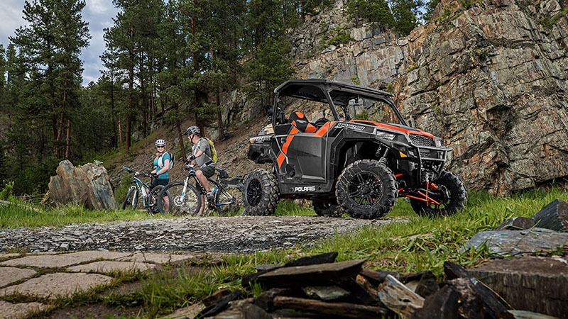 2018 Polaris General 1000 EPS Deluxe in Wisconsin Rapids, Wisconsin