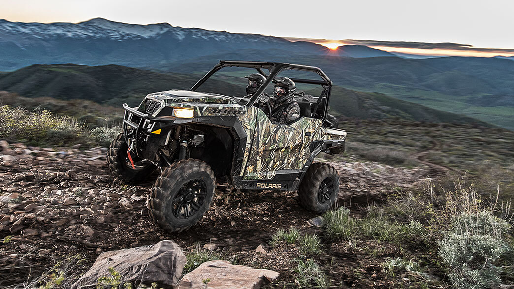 2018 Polaris General 1000 EPS Hunter Edition in Delano, Minnesota