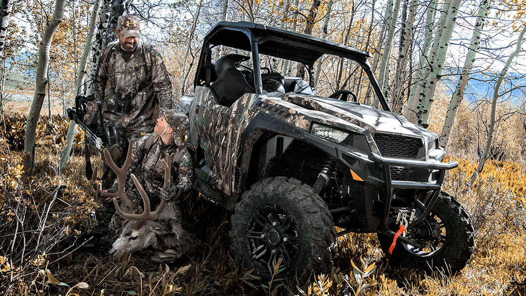 2018 Polaris General 1000 EPS Hunter Edition in Omaha, Nebraska