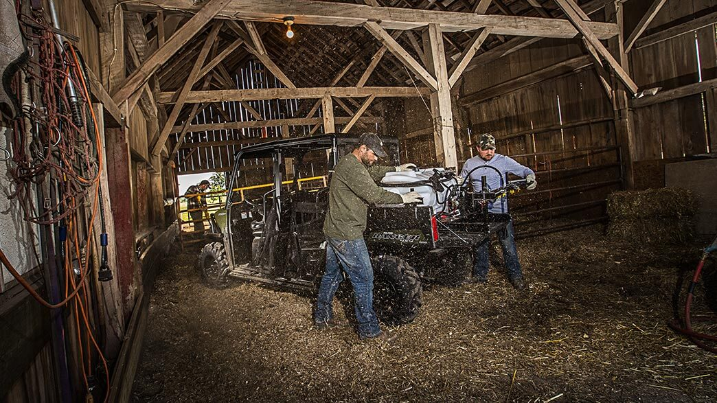 2018 Polaris Ranger Crew 570-4 in Barre, Massachusetts
