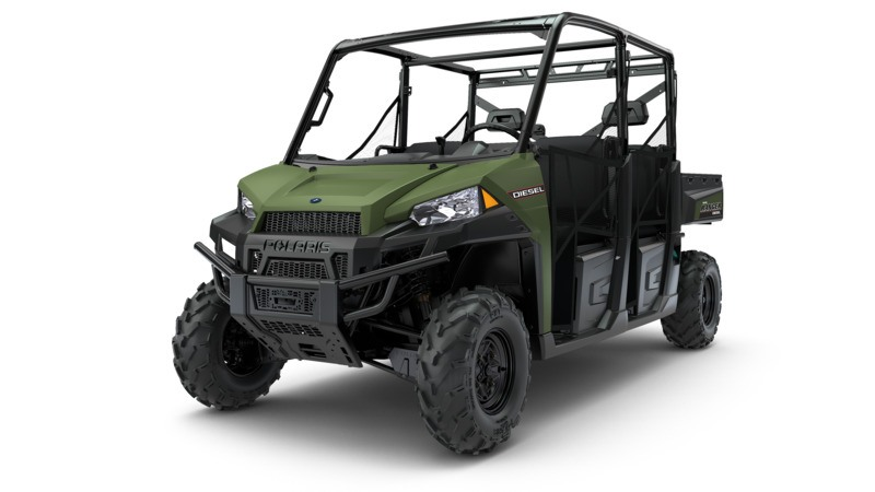 2018 Polaris Ranger Crew Diesel in Sterling, Illinois