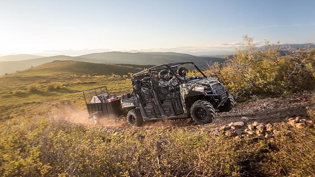 2018 Polaris Ranger Crew XP 1000 EPS in San Diego, California