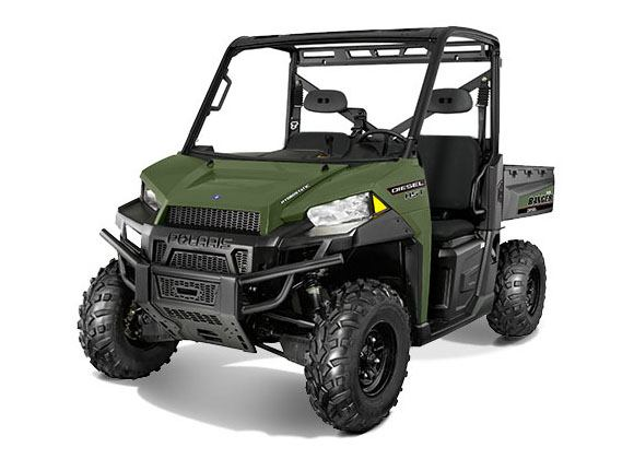 2018 Polaris Ranger Diesel HST in Hayes, Virginia