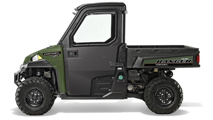 2018 Polaris Ranger Diesel HST Deluxe in Lumberton, North Carolina