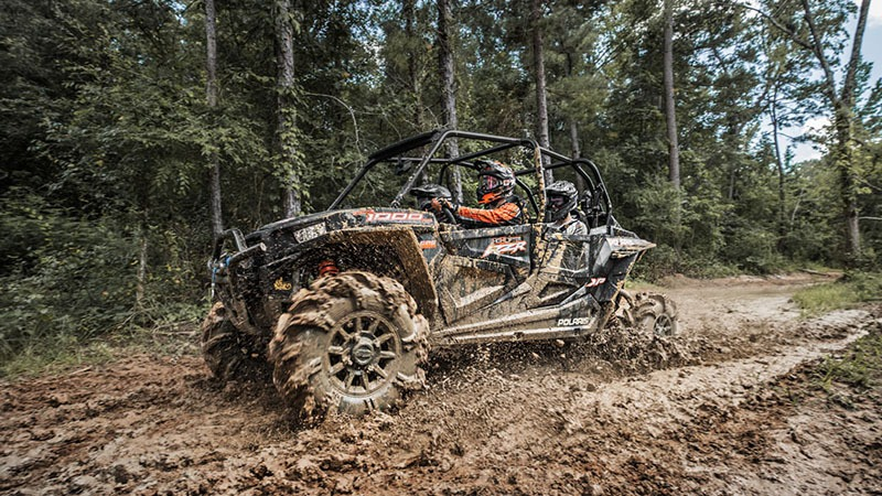 2018 Polaris RZR XP 4 1000 EPS High Lifter Edition in Three Lakes, Wisconsin