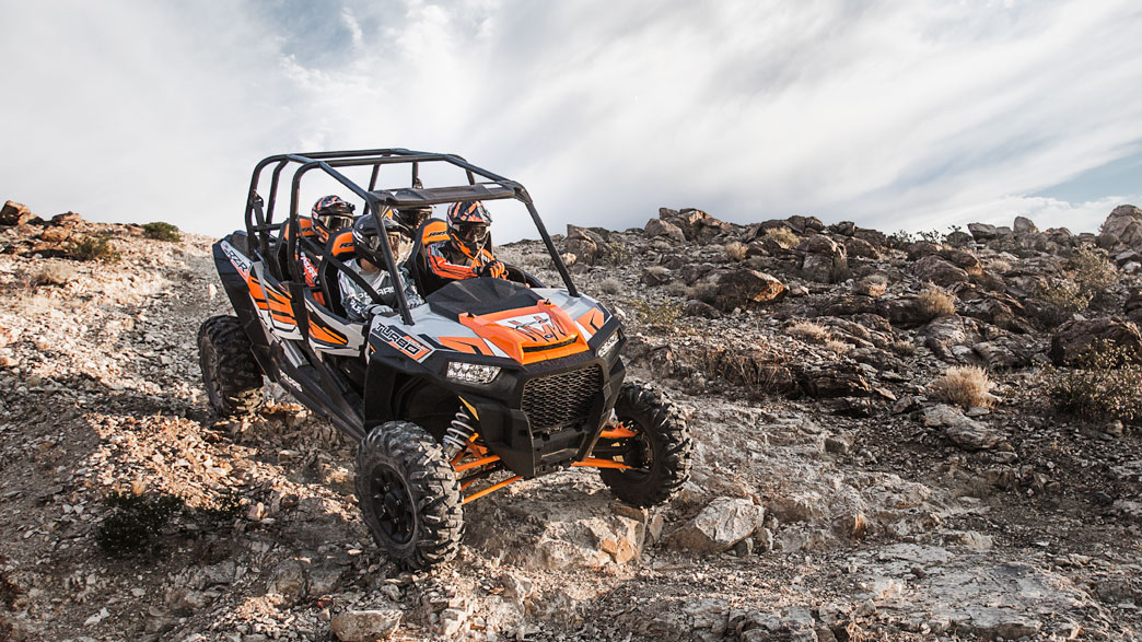 2018 Polaris RZR XP 4 Turbo EPS in Lewiston, Maine