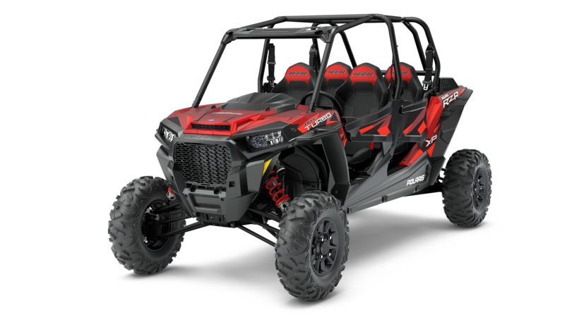 2018 Polaris RZR XP 4 Turbo EPS Fox Edition in Hancock, Wisconsin