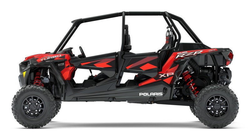 2018 Polaris RZR XP 4 Turbo EPS Fox Edition in Bessemer, Alabama