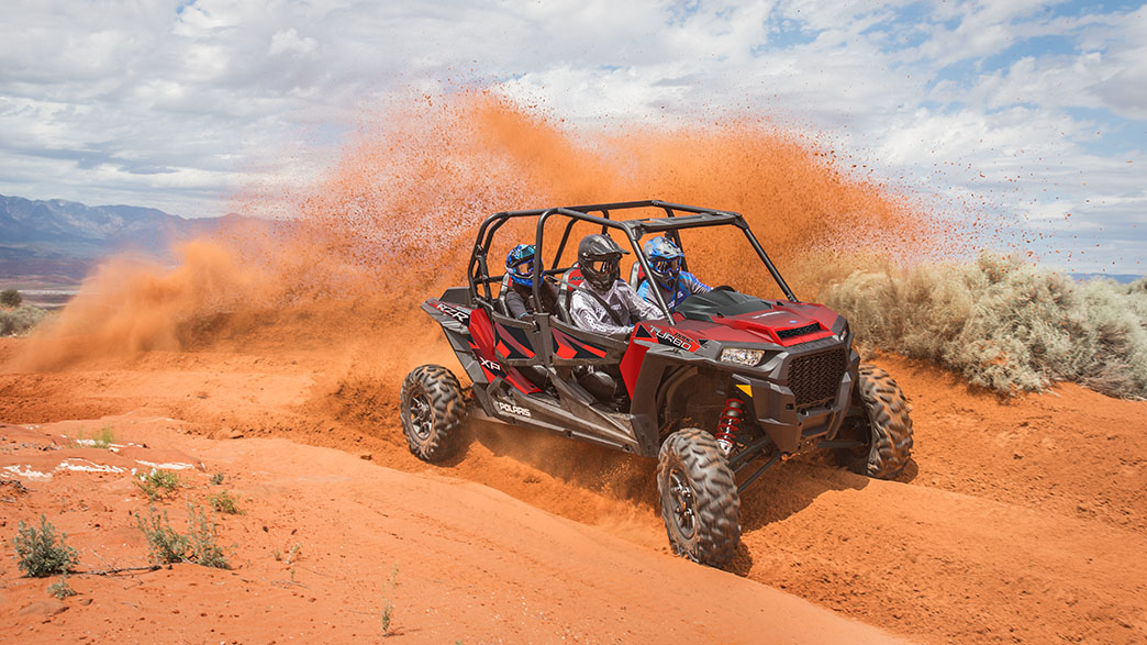 2018 Polaris RZR XP 4 Turbo EPS Fox Edition in Dimondale, Michigan