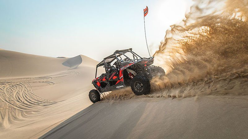 2018 Polaris RZR XP 4 Turbo EPS Fox Edition in Sturgeon Bay, Wisconsin