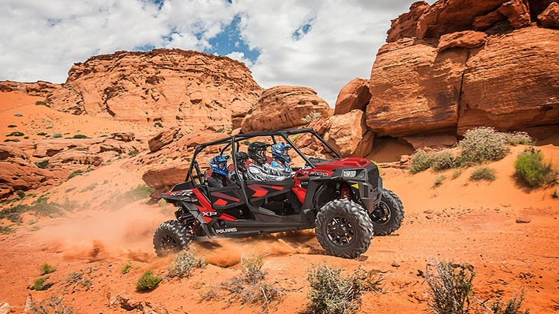 2018 Polaris RZR XP 4 Turbo EPS Fox Edition in Huntington Station, New York - Photo 8