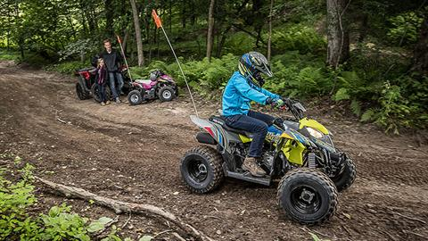 2019 Polaris Outlaw 110 in Milford, New Hampshire