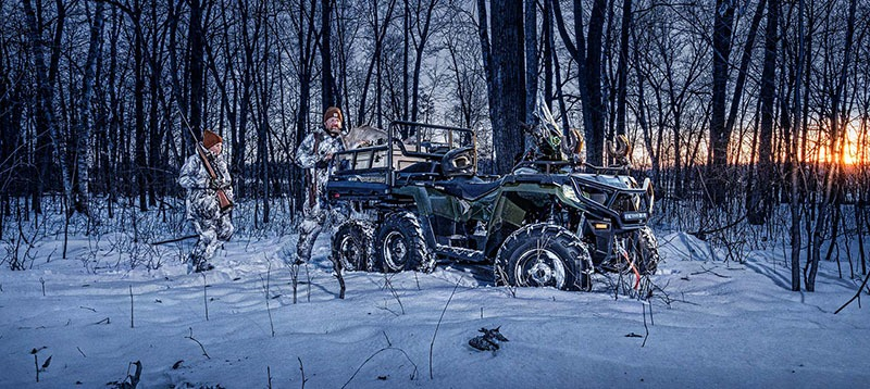 2019 Polaris Sportsman 6x6 Big Boss 570 EPS in Oxford, Maine - Photo 5