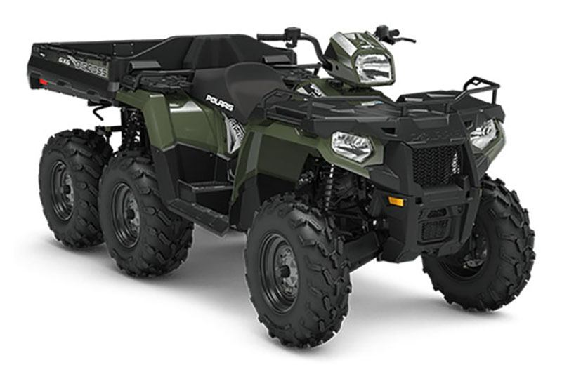 2019 Polaris Sportsman 6x6 570 in Barre, Massachusetts