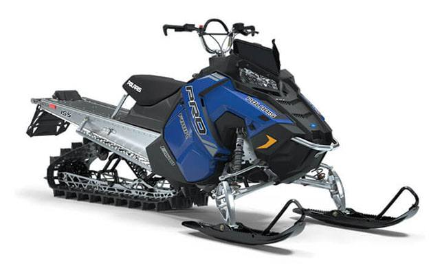 2019 Polaris 600 PRO-RMK 155 in Minocqua, Wisconsin