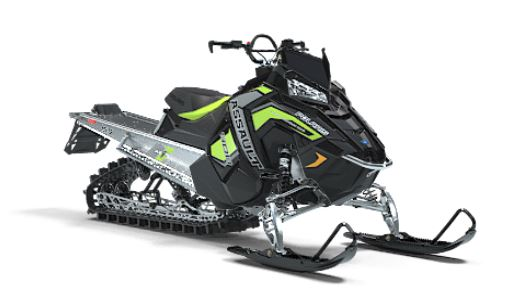 2019 Polaris 800 RMK Assault 155 Snowcheck Select in Leesville, Louisiana