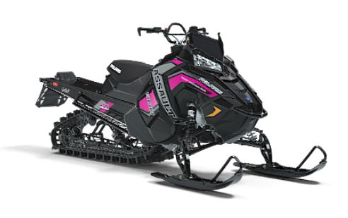 2019 Polaris 800 RMK Assault 155 Snowcheck Select in Bigfork, Minnesota