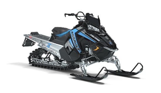 2019 Polaris 800 RMK Assault 155 Snowcheck Select in Malone, New York