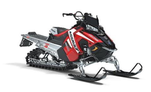 2019 Polaris 800 RMK Assault 155 Snowcheck Select in Altoona, Wisconsin