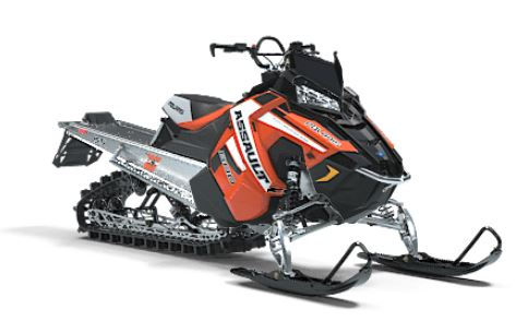 2019 Polaris 800 RMK Assault 155 Snowcheck Select in Baldwin, Michigan