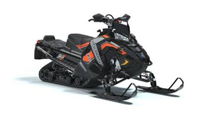 2019 Polaris 800 Titan XC 155 ES Snowcheck Select in Pittsfield, Massachusetts