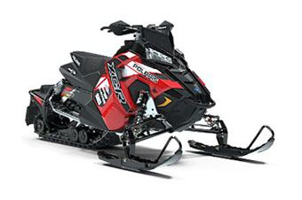 2019 Polaris 600 RUSH XCR Cobra SnowCheck Select in Mio, Michigan