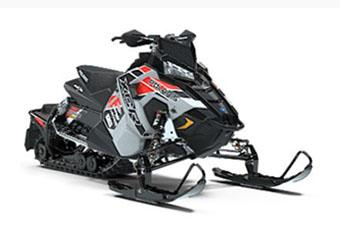 2019 Polaris 600 RUSH XCR Cobra SnowCheck Select in Munising, Michigan