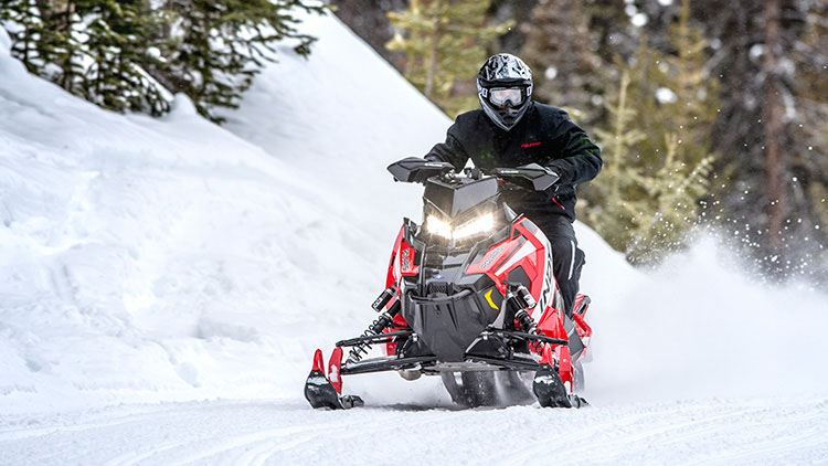 2019 Polaris 600 INDY XC 129 Snowcheck Select in Hancock, Wisconsin