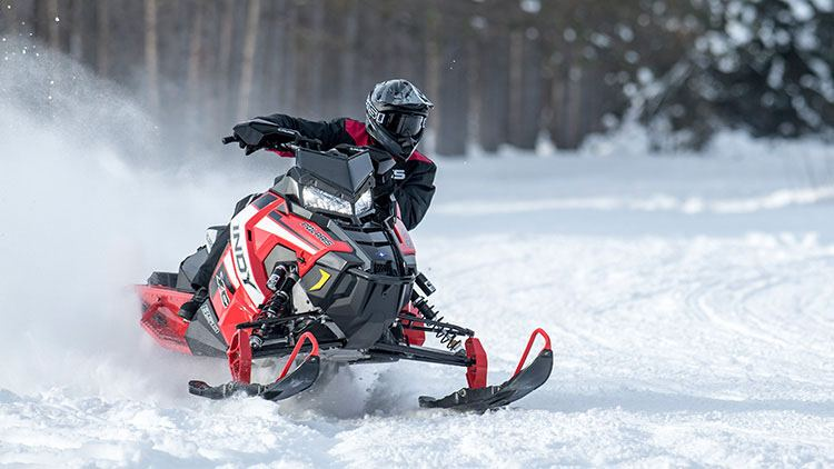 2019 Polaris 600 INDY XC 129 Snowcheck Select in Baldwin, Michigan
