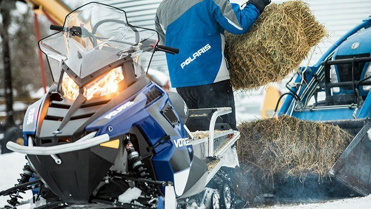 2019 Polaris 550 Voyageur 155 ES in Newport, Maine