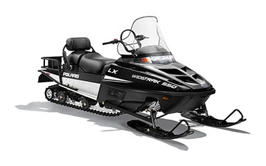 2019 Polaris 550 WideTrak LX ES in Ironwood, Michigan