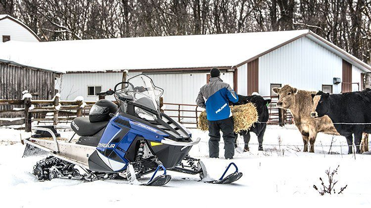 2019 Polaris 600 Voyageur 144 ES in Deerwood, Minnesota