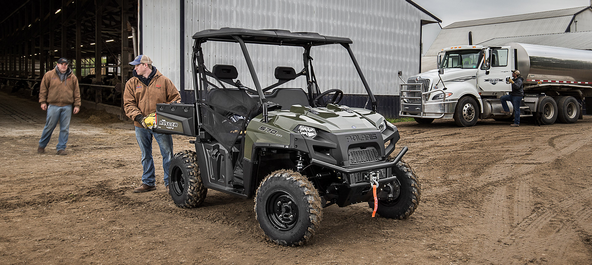 2019 Polaris Ranger 570 Full-Size in Fleming Island, Florida