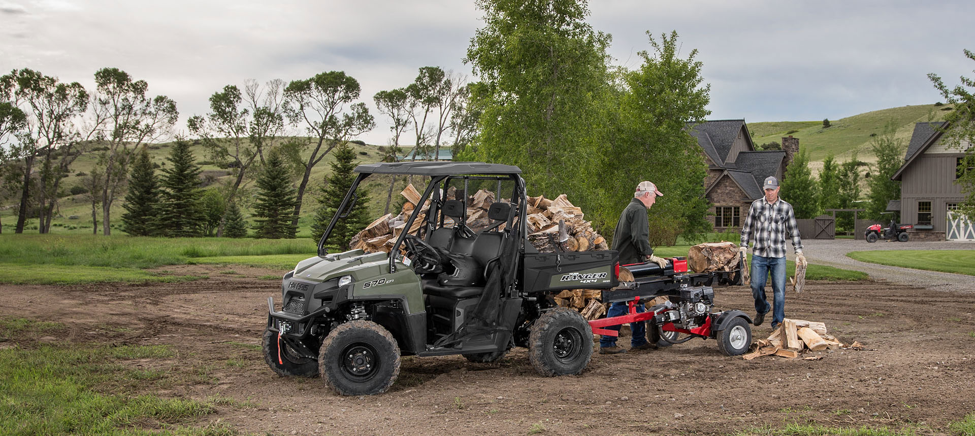 2019 Polaris Ranger 570 Full-Size in Conroe, Texas - Photo 3